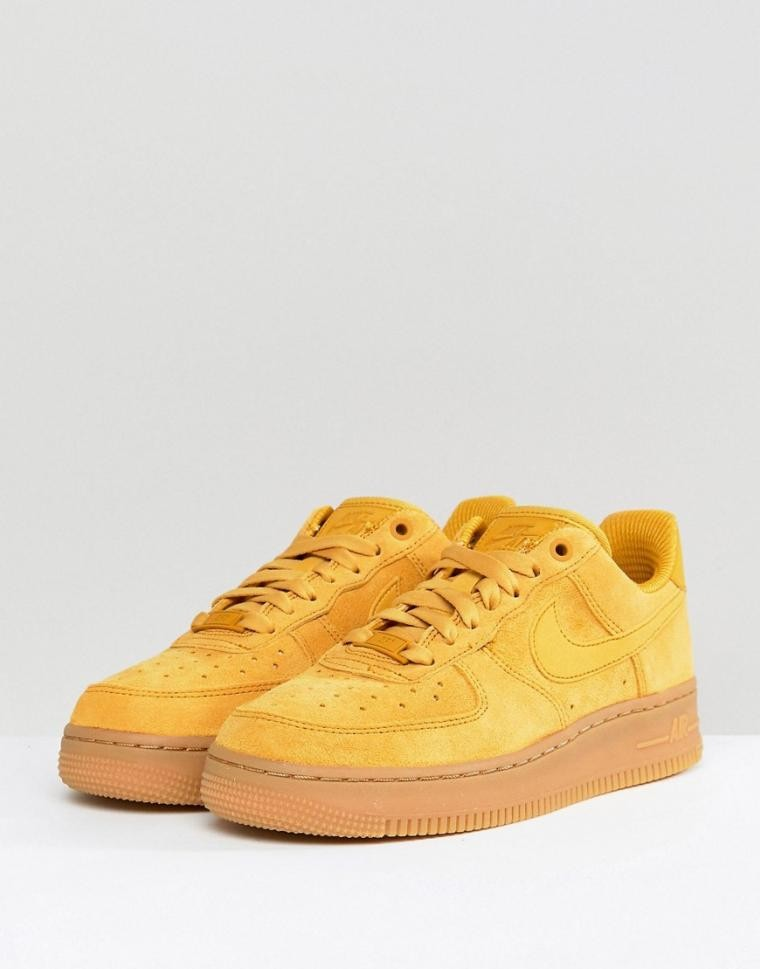Air 07 1 Jaune Femme Force Nike Moutarde WdeQrBCxo