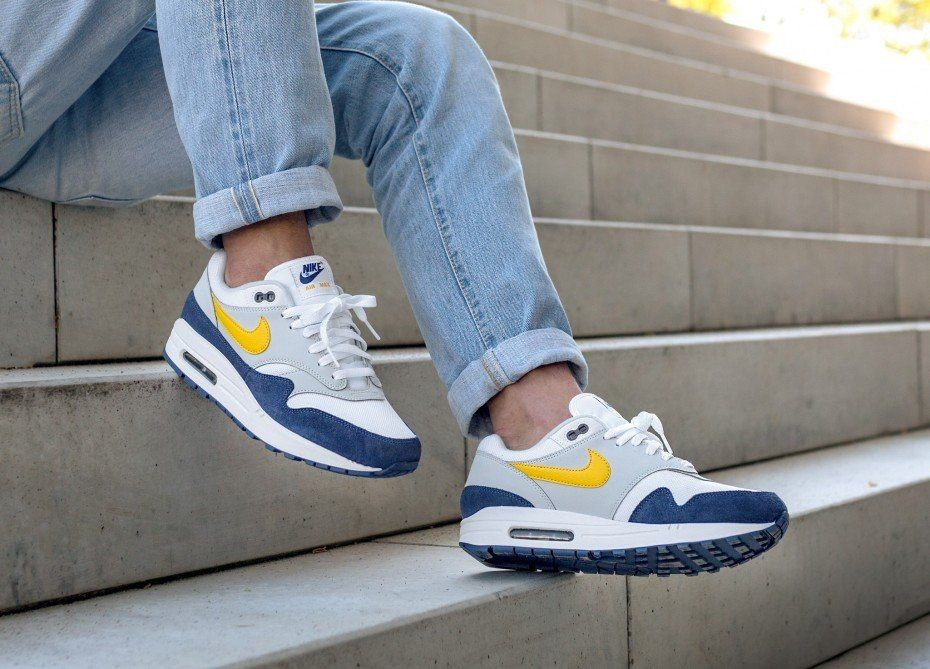 Air Blue Nike 1 Yellow Recall White Gs Max Tour UpGMLzSVq