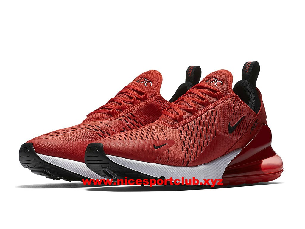 Nike Air Max 270 Chaussure pour Homme BlancheJus Chaud Rouge AH8050 103