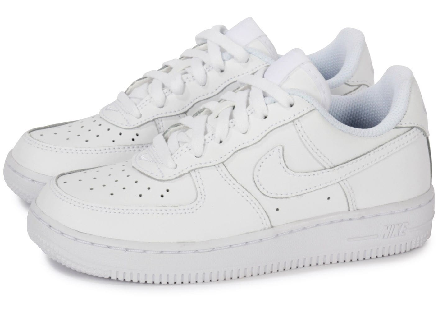 new style aca73 e46a2 nike air force 1 noir enfant