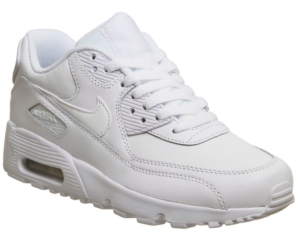 super quality 100% top quality classic nike air max 90 blanche cuir