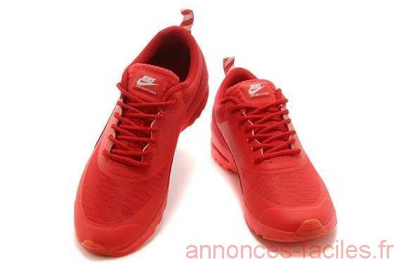 nike air max thea femme rouge