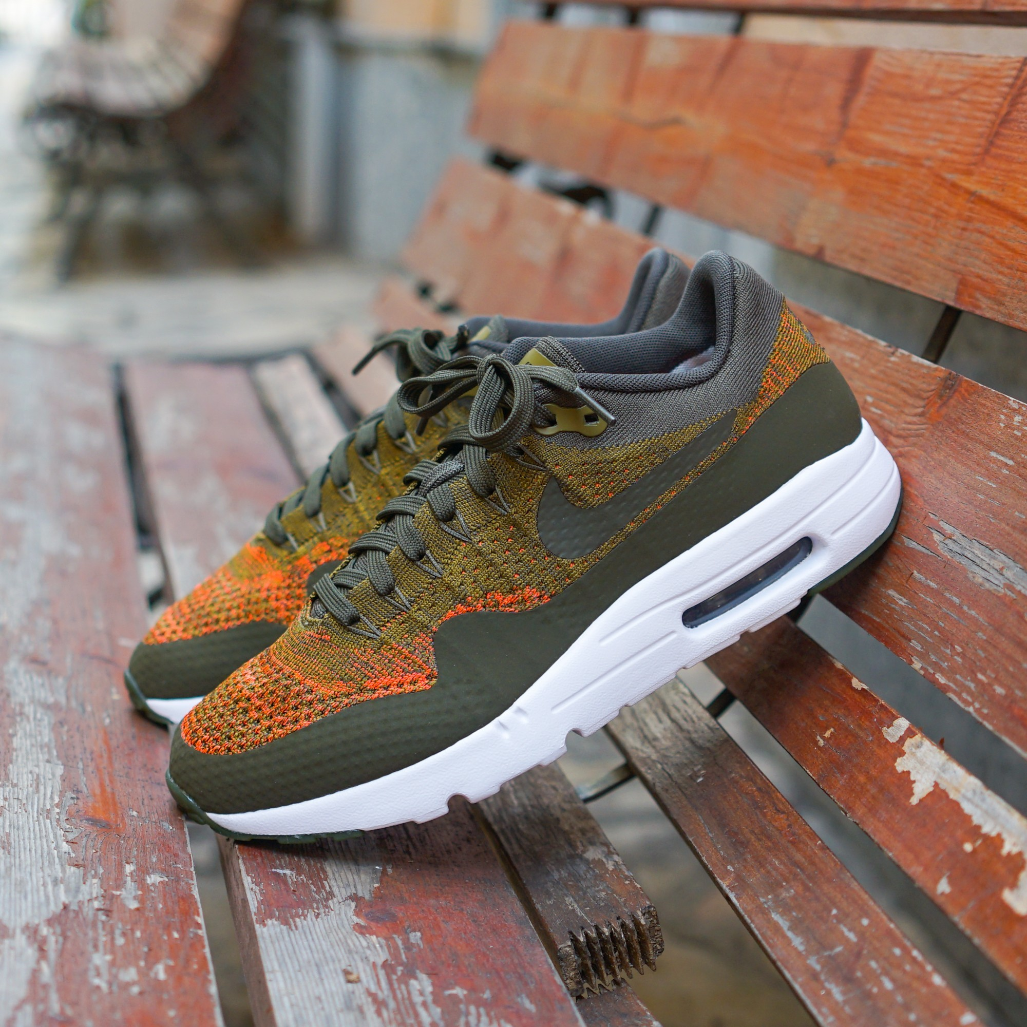 air max 1 flyknit homme