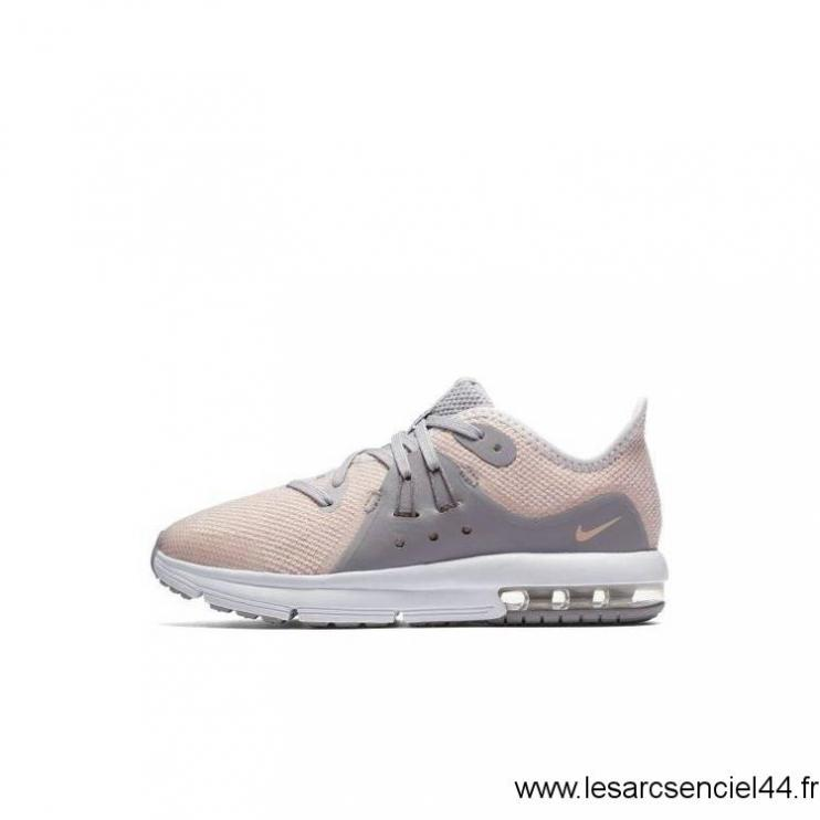 san francisco 36bdd a7138 FR Sneaker - Gris - Nike Air Max Sequent 3 - Enfants Nike Mode Chaussures  Taille