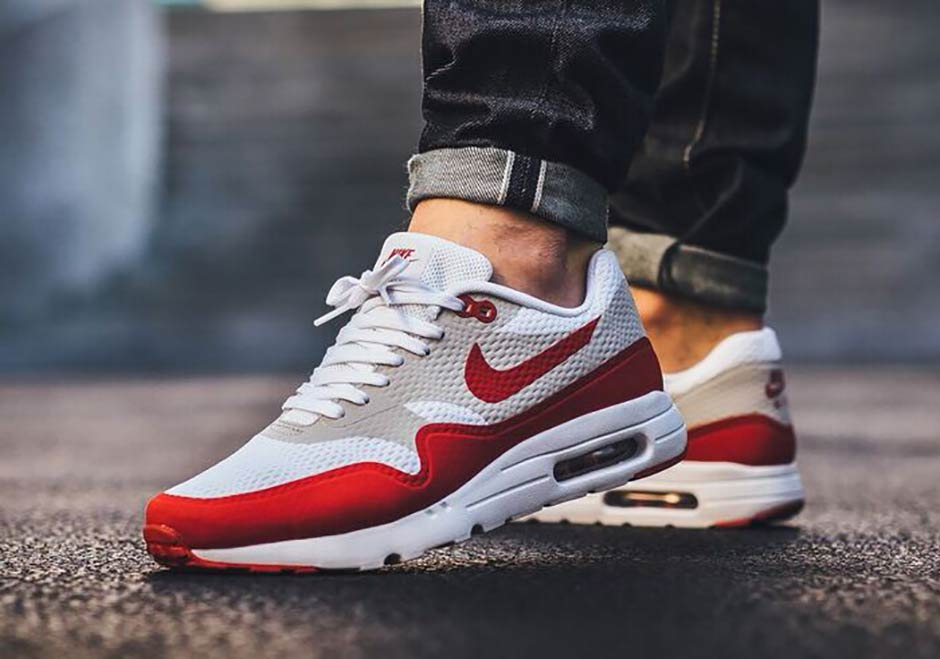 nike air max 1 homme rouge et blanche