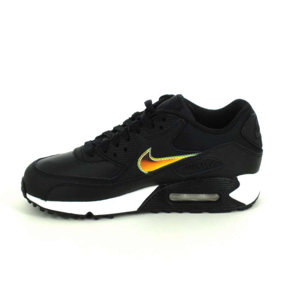 nike air max 90 noir et or