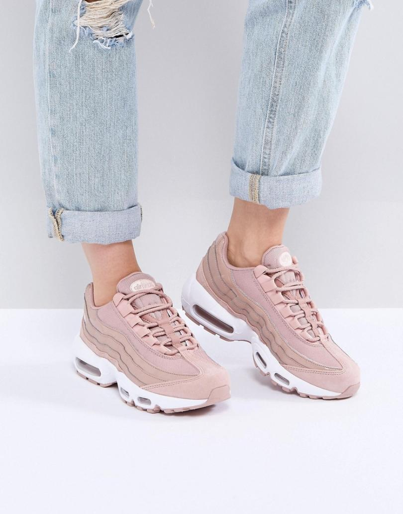 nike air max 95roses femme pas cher